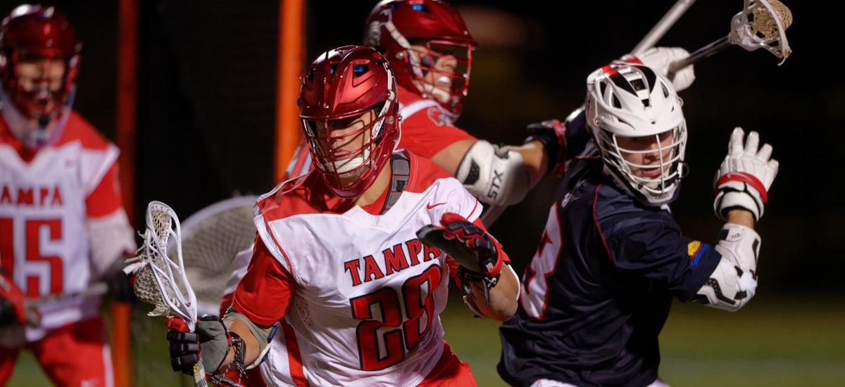 Tampa Men's Lacrosse Defeats the No. 10 Crusaders in Mid-Week Thriller