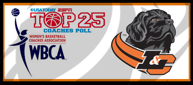 Women's Basketball Ranked #19 in USA TODAY Sports Division III Top-25 Coaches Poll