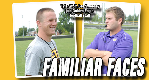 Lee Sweeney, Tyler Wolf added to Golden Eagle football staff