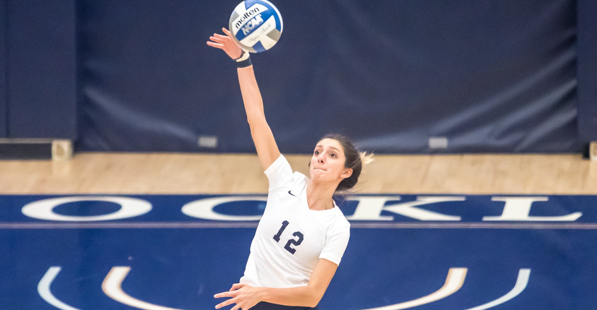 Women's Volleyball Sweeps York to Snap Two-Game Skid