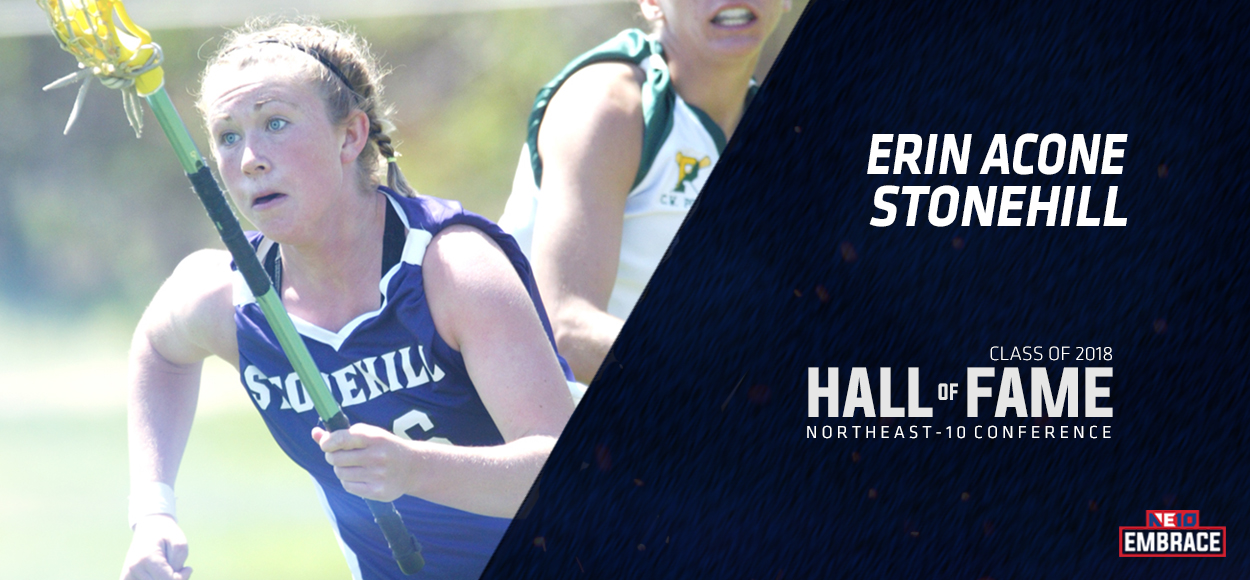 NE10 Hall of Fame Inductee: Erin Acone, Stonehill Lacrosse