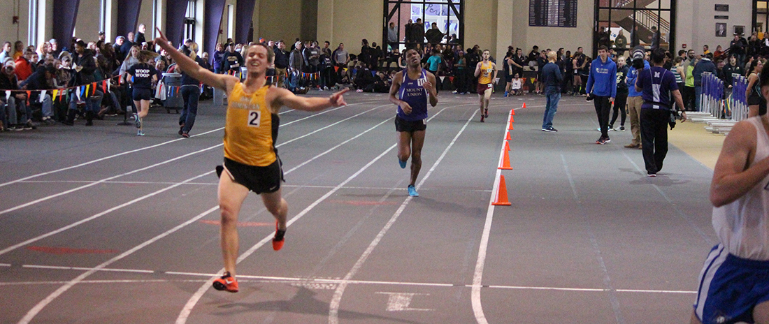 Pipher Sets Indoor Track And Field School Record In Men's 3000 At GLIAC Indoor Championships