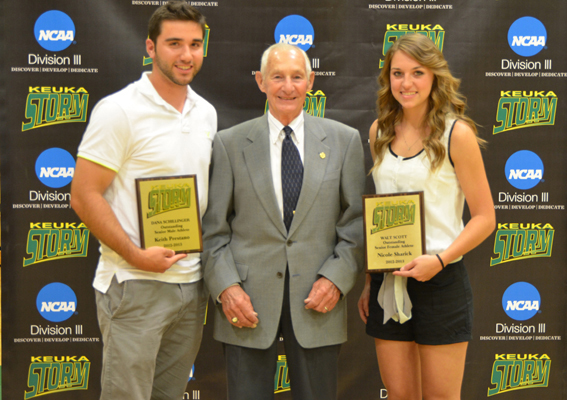 Annual Awards Ceremony Honors Student-Athletes