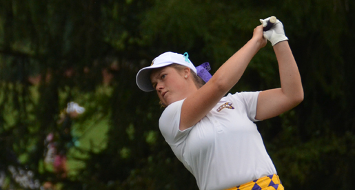 Everts, Geer card career-bests to lead Golden Eagles to ninth place finish