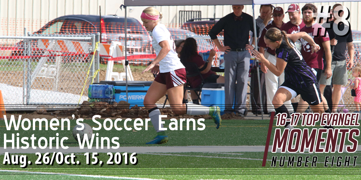 Top Evangel Moments from 2016-17: #8 – Women's Soccer Earns Historic Wins