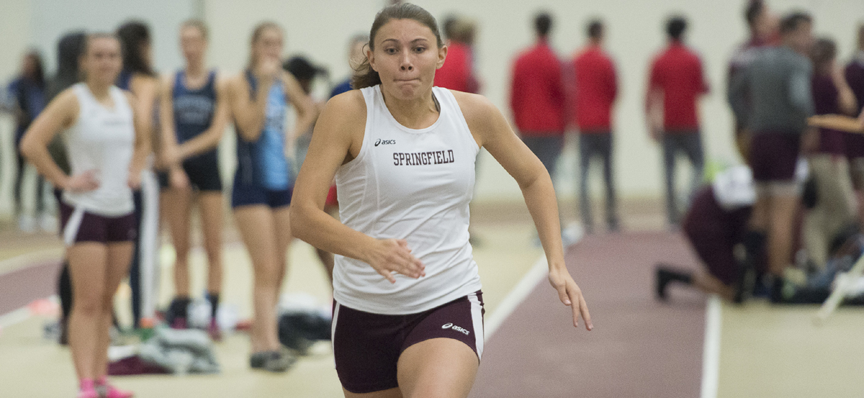 Markos and Luscier Women's Track and Field at Utica College Pioneer Invitational