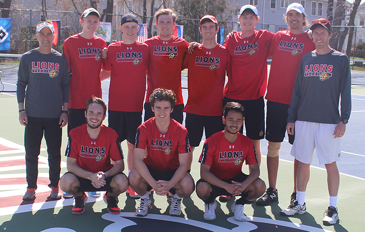 Men's Tennis Clipped by Nichols 5-3 in CCC Championship