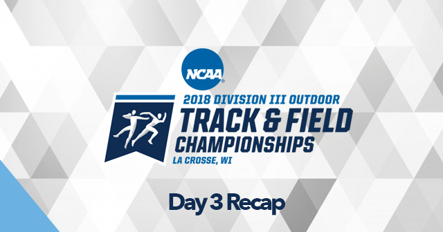 Day 3 Recap: NCAA Men's and Women's Track & Field Championships