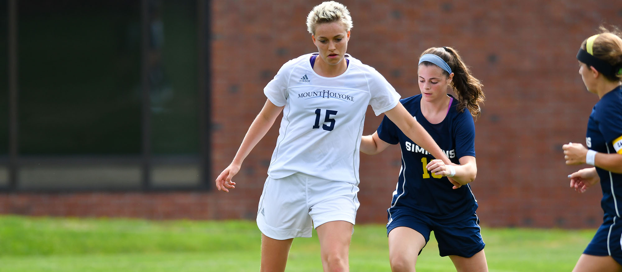 Soccer Battles to Scoreless Tie With Simmons in Season Opener