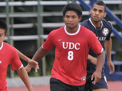 Wilfredo Roque kicked winning goal against George Washington