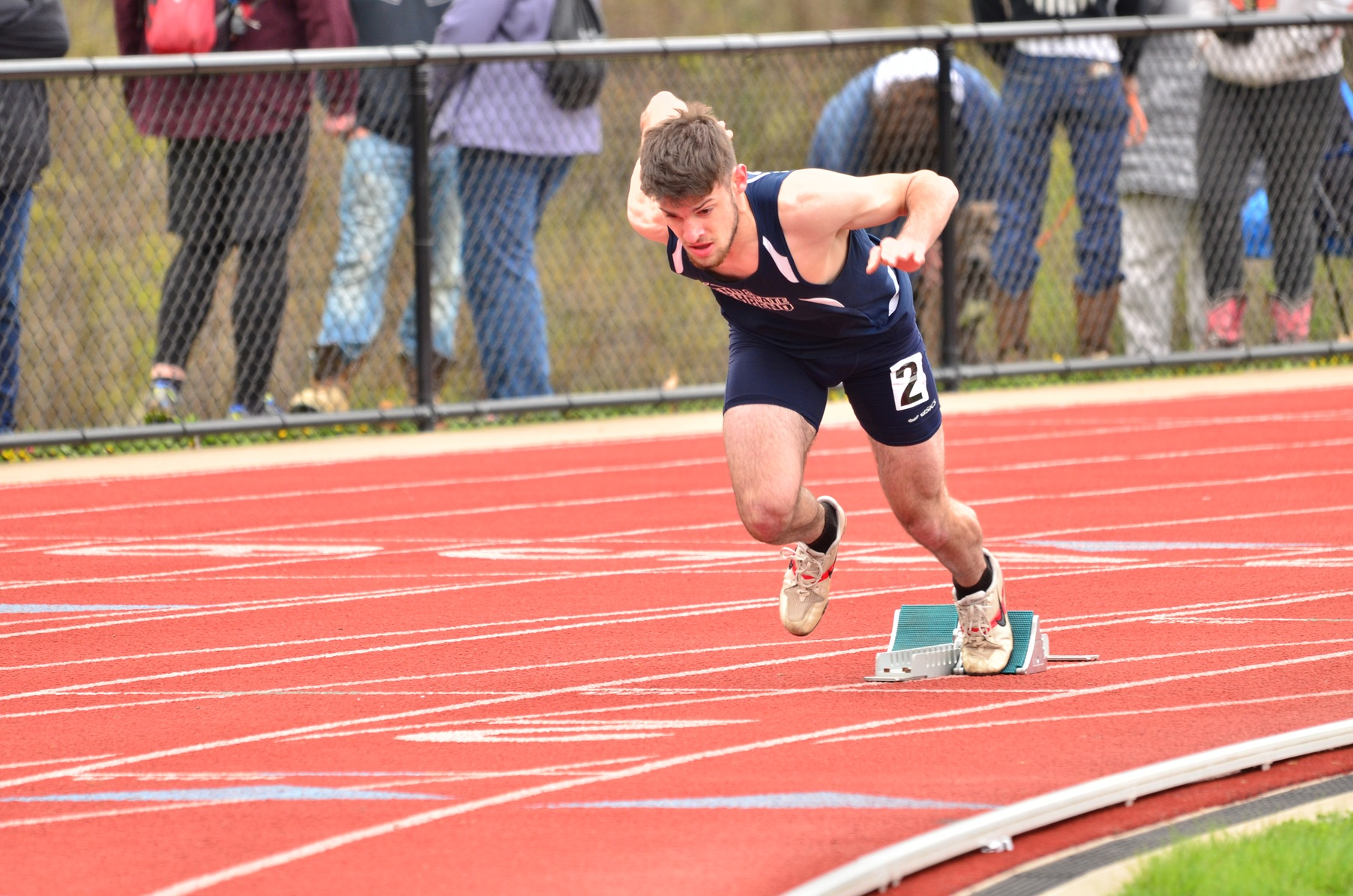 Men's Outoor Track & Field in Fourth Place at ECAC Championships