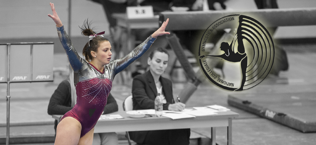DeAngelo Tabbed NCGA East All-Around Gymnast of the Week