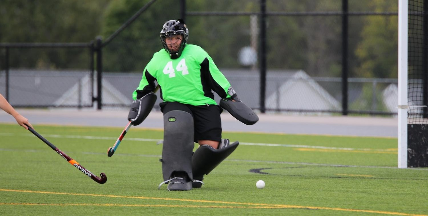 Kassidy Valentine (44) made a season-high 16 saves on Tuesday -- Photo by Brooke Overton (9/4/19)