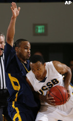 Top-Seeded Gauchos Drop Defensive Decision to No. 5 UC Irvine, 55-50