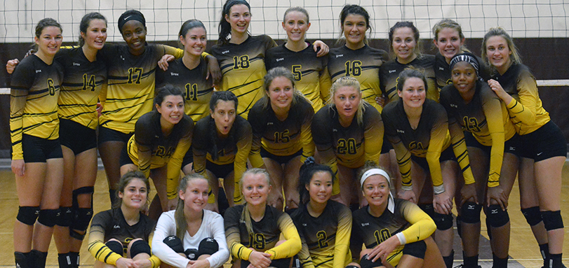 Volleyball Co-Champs at 19th Marcia French Invitational