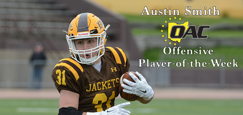 Smith Garners First Career OAC Football Offensive Player of the Week Accolade