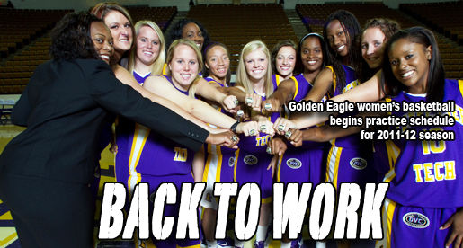 Tennessee Tech women's basketball begins practice for 2011-12 season