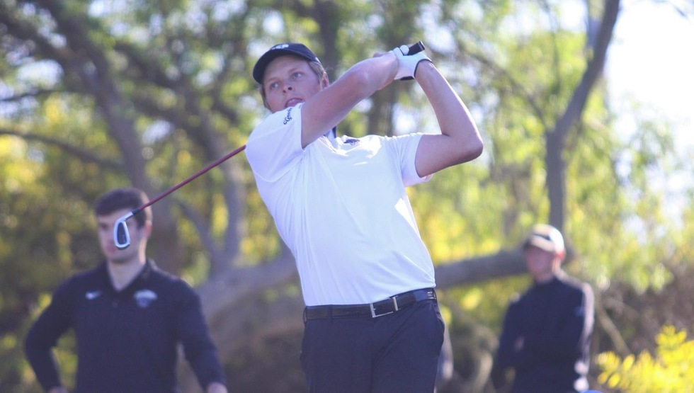 Brett Bennett shot a 2-over par 218 to tie for 10th at the UC Irvine Invitational. (Photo courtesy of UC Irvine)