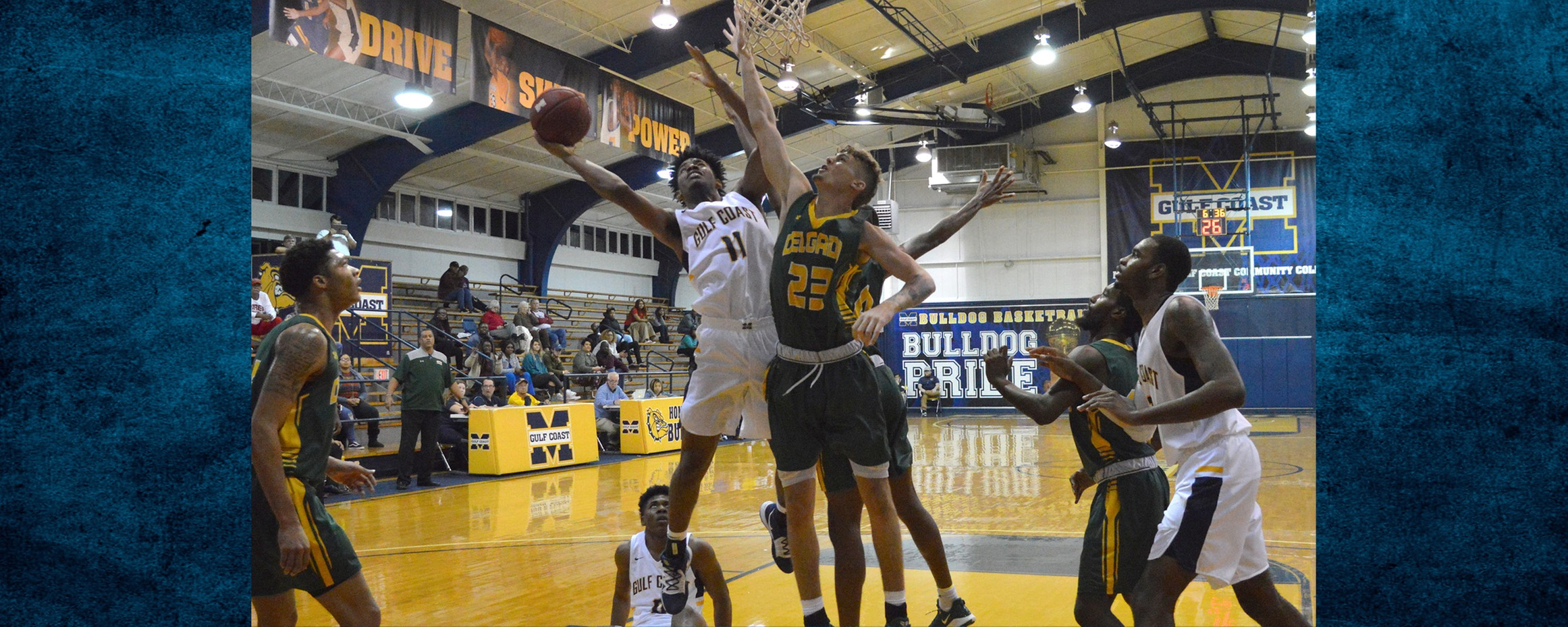 Gulf Coast leads big early, holds on late