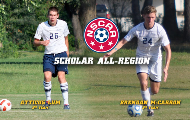 Lum, McCarron Named to Scholar All-Region Team