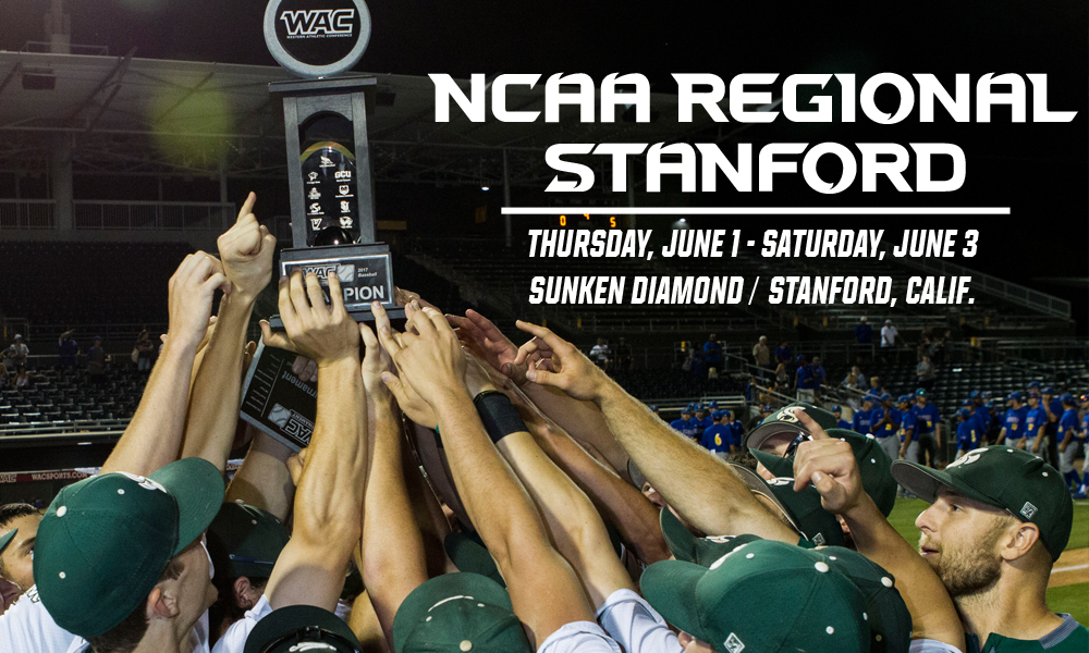 BASEBALL SELECTED TO STANFORD NCAA REGIONAL, FACE HOST CARDINAL THURSDAY