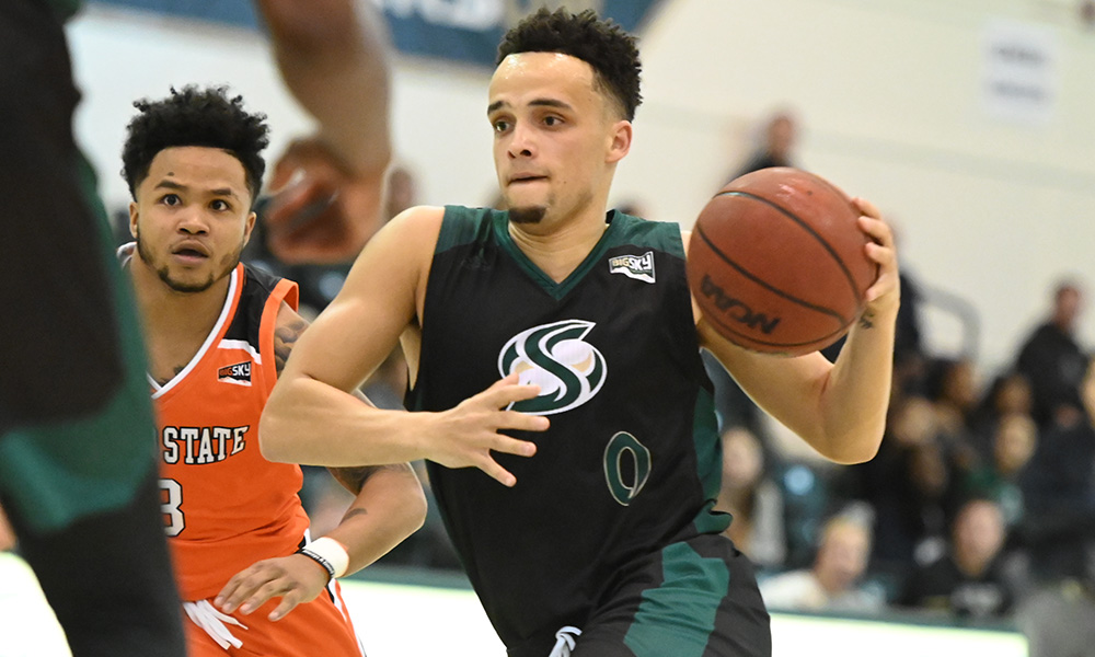 MEN'S HOOPS DROPS LAST SECOND HEART BREAKER TO IDAHO STATE, 72-70