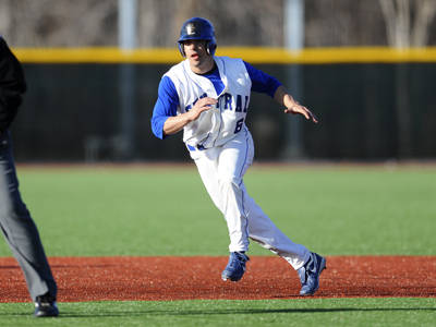 Baseball Sweeps Doubleheader at Home on Saturday vs. Bryant