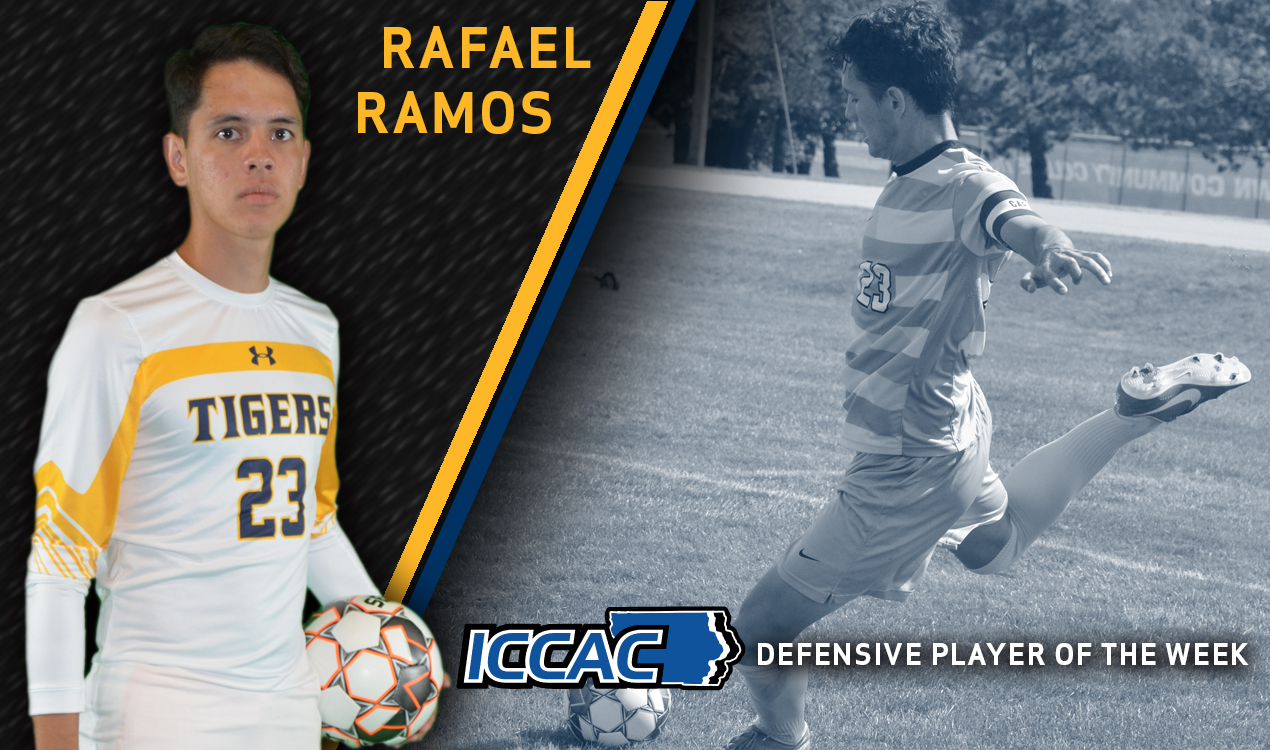 Ramos selected as ICCAC Athlete of the Week for Defense