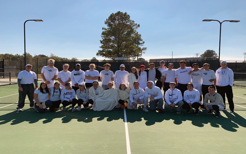 ECCC Tennis Splits with Co-Lin