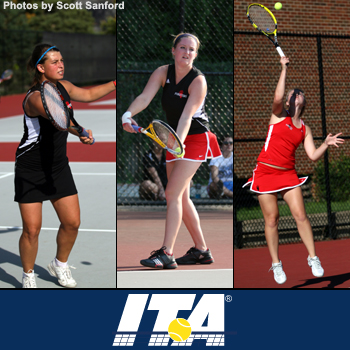 Celebic, Fadden, and Walton Named ITA Scholar-Athletes