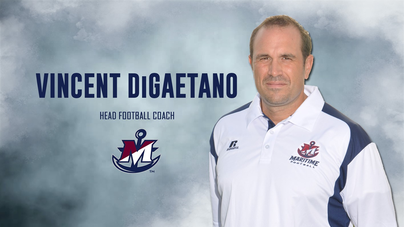 Vincent DiGaetano Returns to Maritime as Head Football Coach