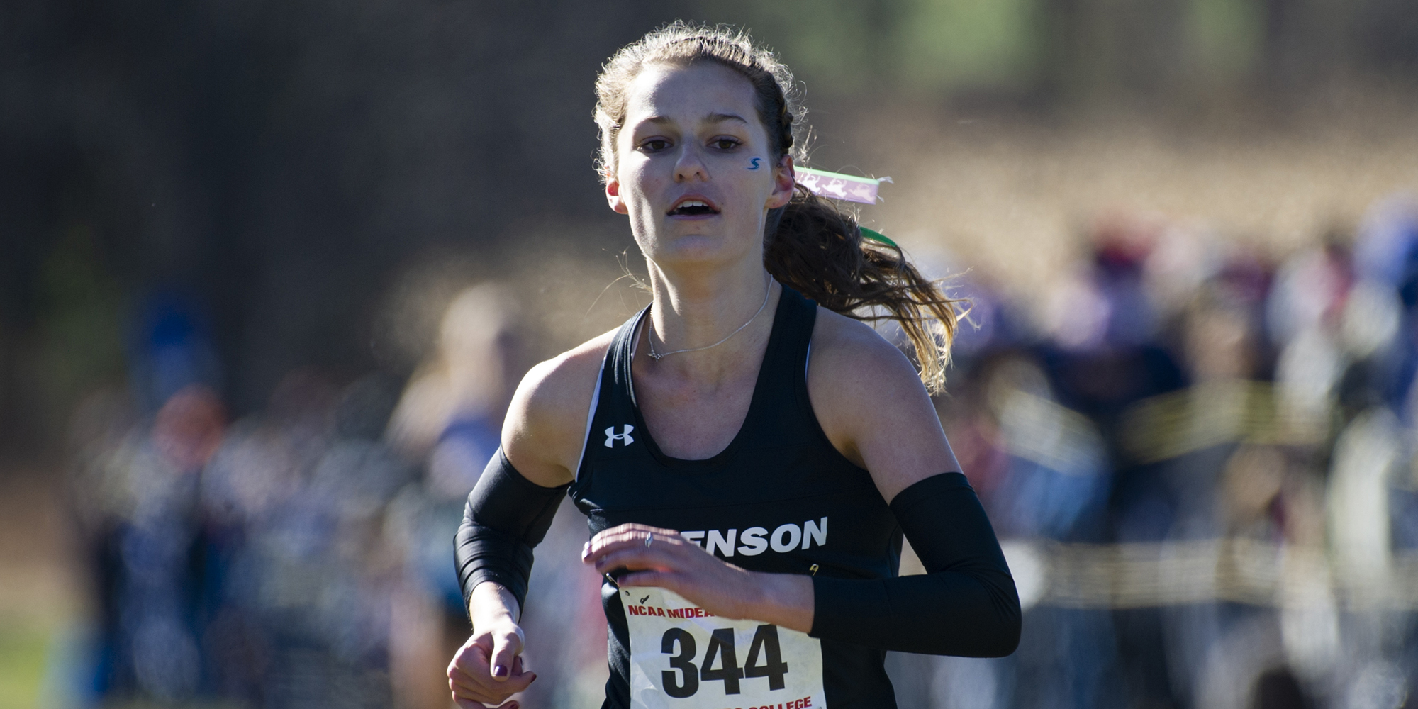 Gates Places Program-Record Third at Regionals, Becomes First Female Mustang to Qualify for Cross Country Nationals