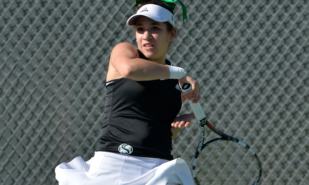 WOMEN'S TENNIS TAKES DOWN CONFERENCE FOE NORTH DAKOTA FOR CONFERENCE WIN