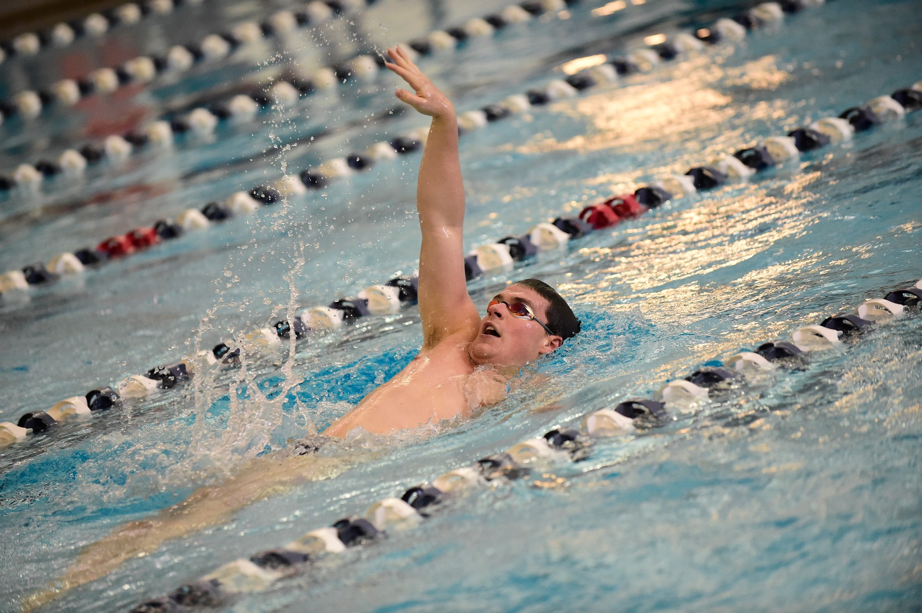 Men's Swimming Heads to Malone, St. Vincent
