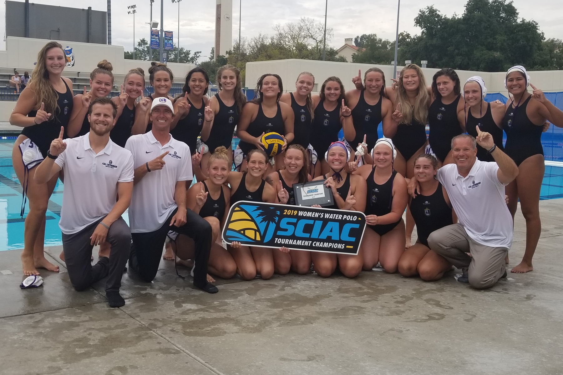 Queens of the Pool! Regals Water Polo Upsets Pomona-Pitzer to Win SCIAC Tournament Championship