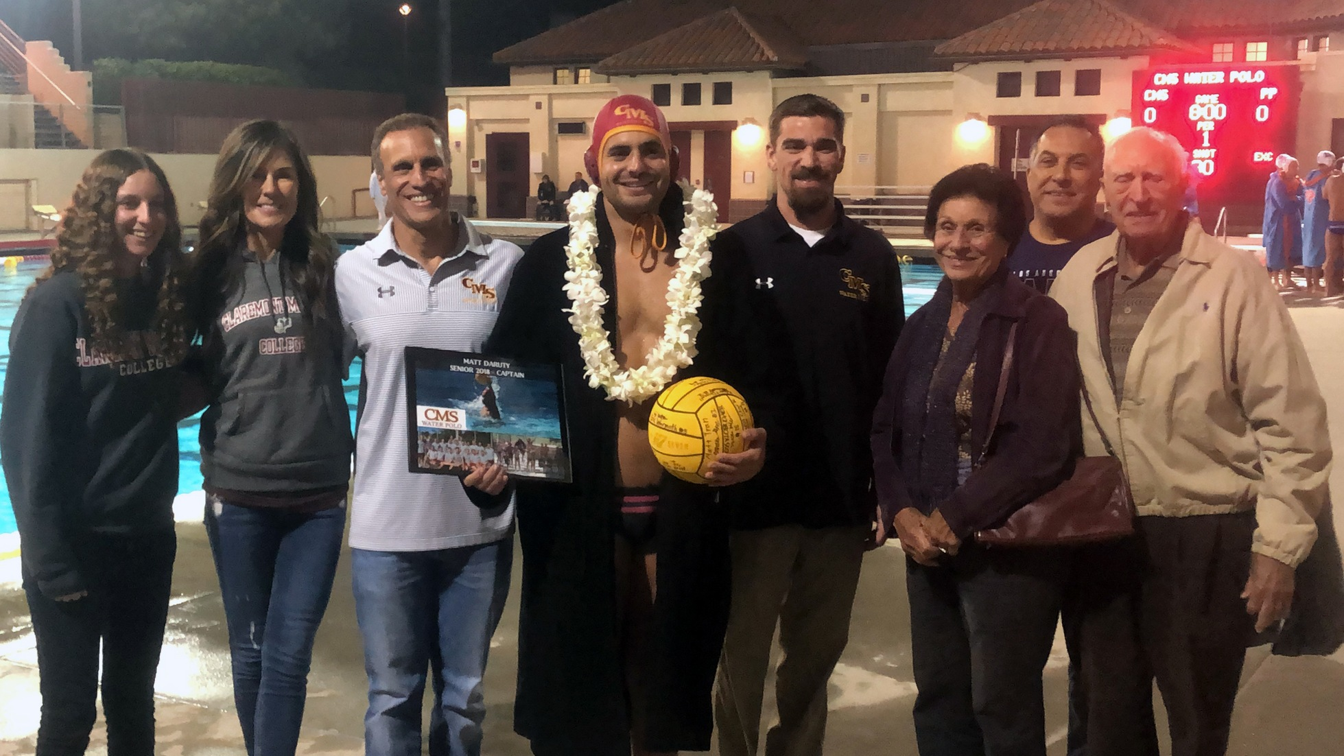 CMS Men's Water Polo Drops Tight Battle with Pomona-Pitzer, Finishes Regular Season Tied for Second in SCIAC