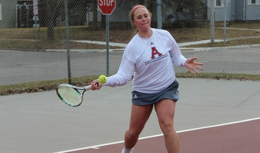 Women's Tennis Falls at Trine, 7-2