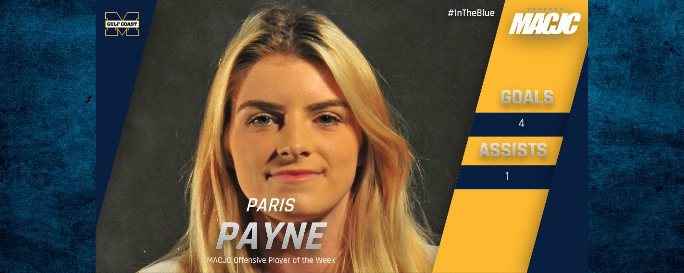 Payne named MACJC Player of the Week