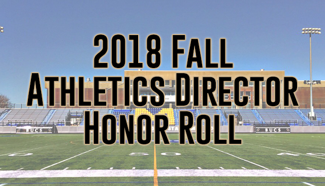 2018 Fall Athletics Director Honor Roll Released