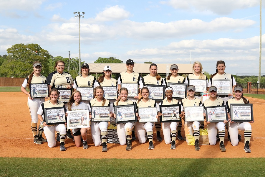 No. 15 ECCC Softball Sweeps Mississippi Delta on Sophomore Day