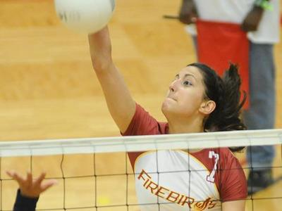UDC Women's Volleyball Falls in Three sets to Dowling College
