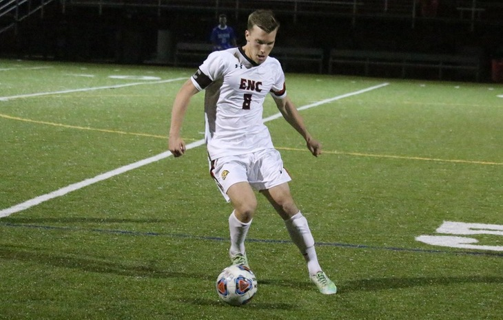 Early Goal Lifts Men's Soccer Past Becker, 1-0