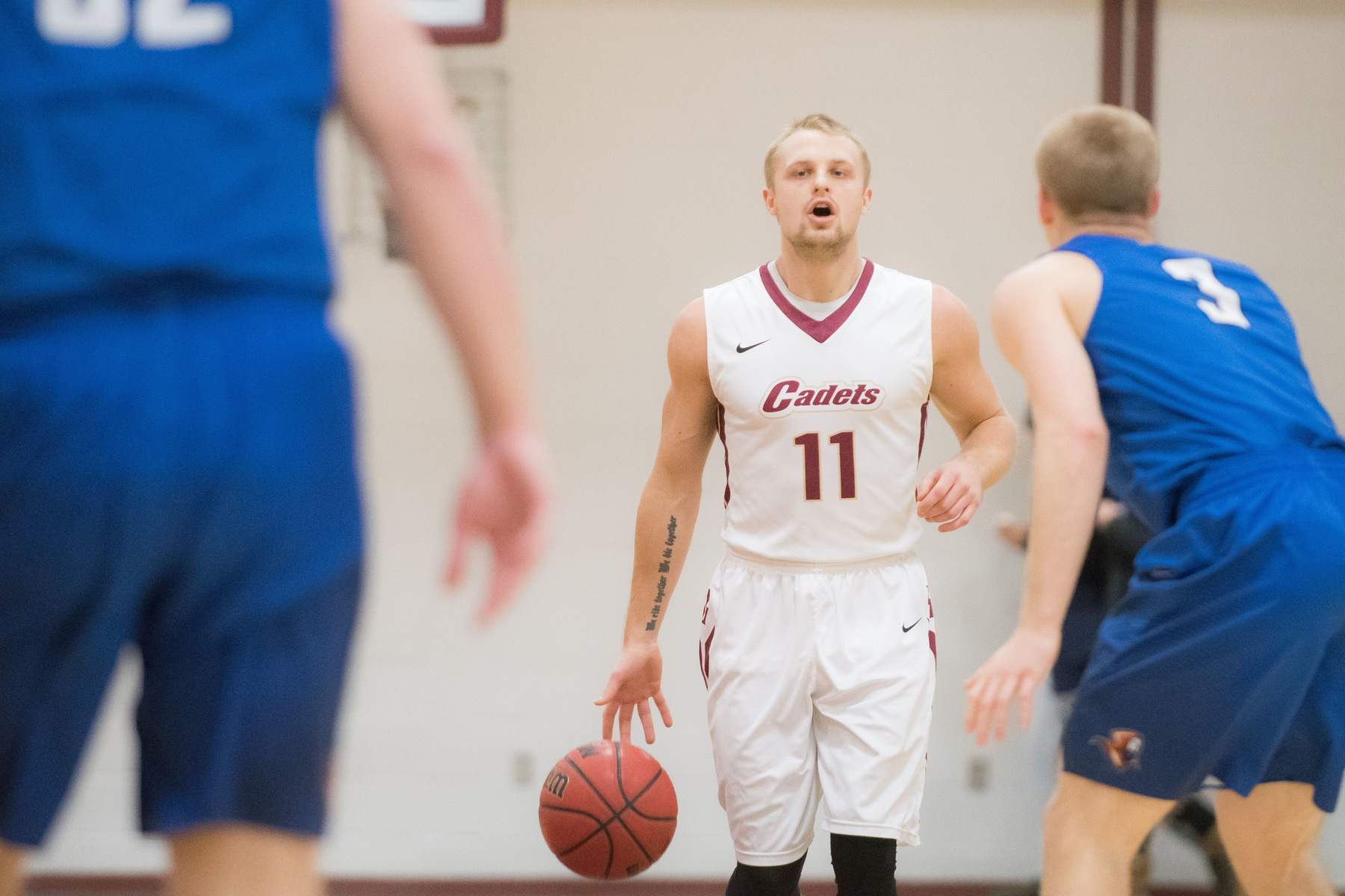 Men's Basketball: Cadets Drop GNAC Contest to Suffolk, 83-66