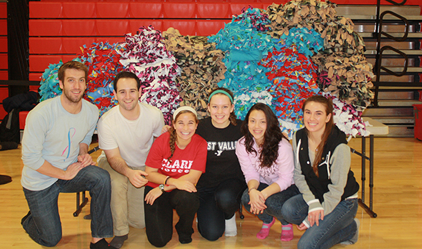 SAAC Donates No-Sew Blankets To Worcester Non-Profits