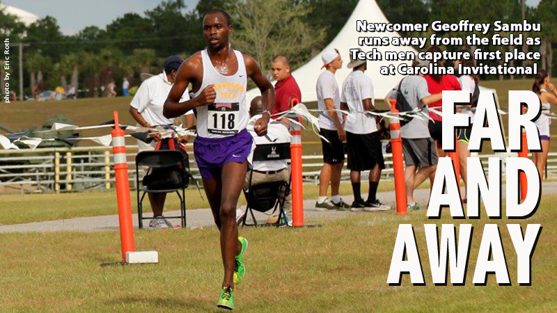 Sambu leads strong team effort as Golden Eagles race to first at Carolina Invitational
