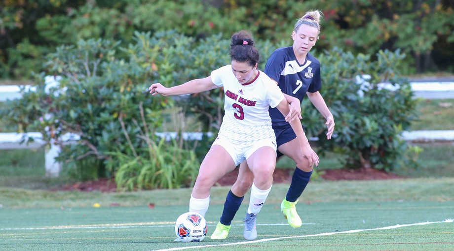 Women's Soccer Flown Past by Bluejay's