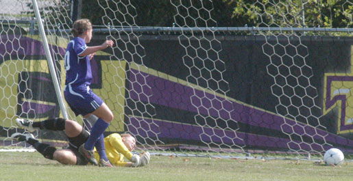 Golden Eagles shutout Austin Peay on Senior Day