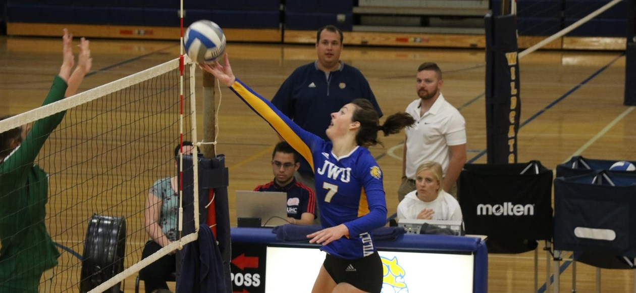 No. 6 Women's Volleyball Downs Coast Guard in Three Sets