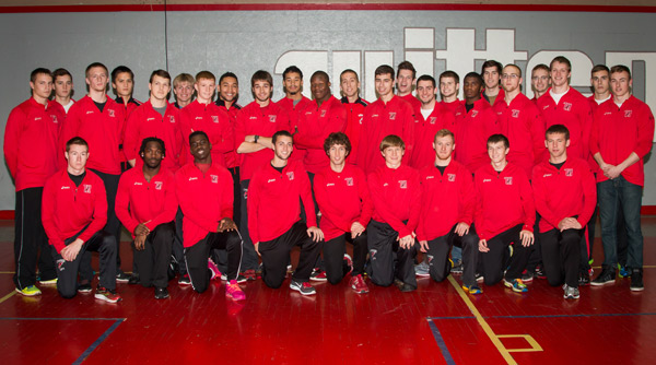 2014 Wittenberg Men's Track and Field