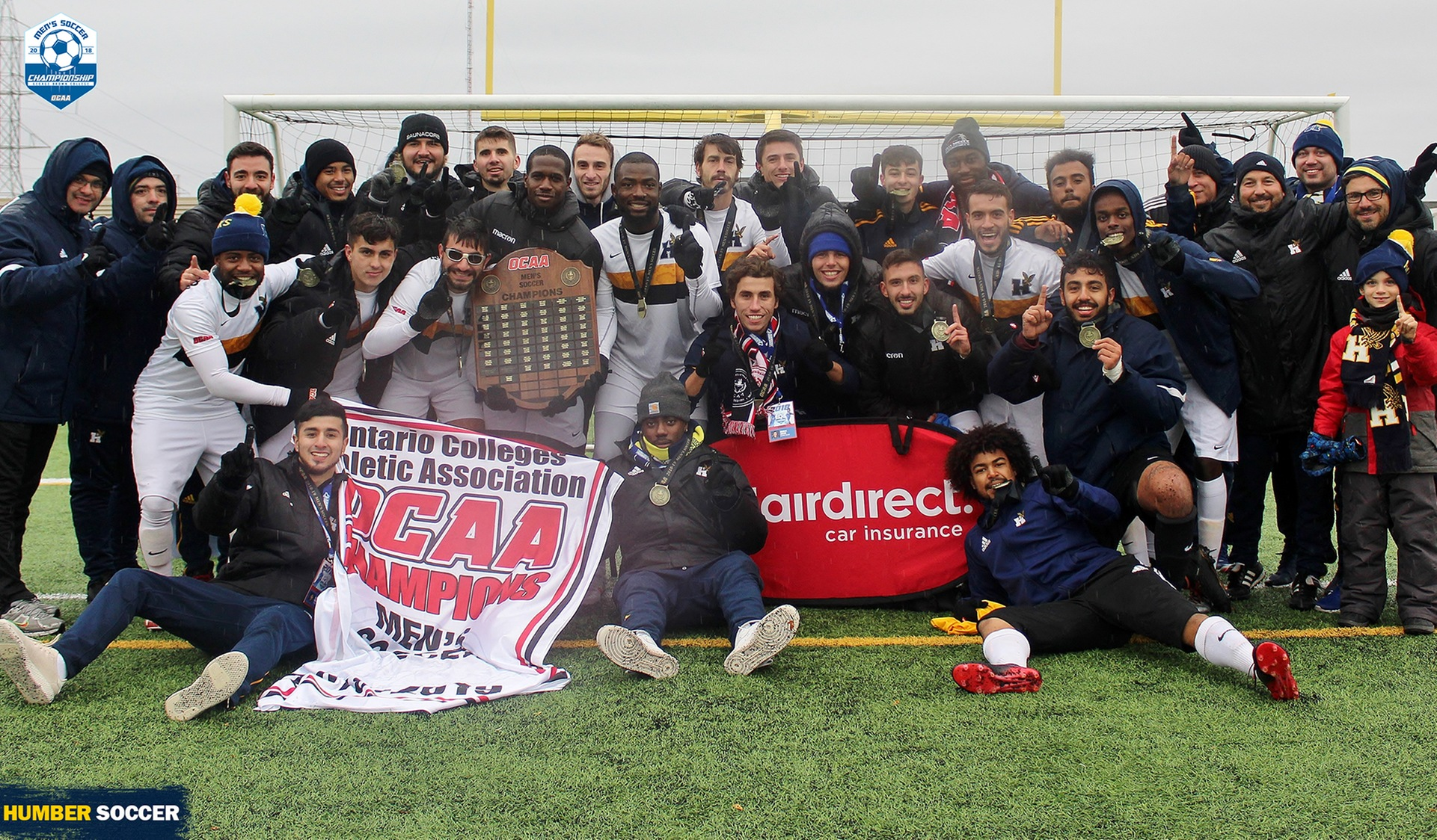 No. 5 MEN'S SOCCER WIN 2018 OCAA CHAMPIONSHIP